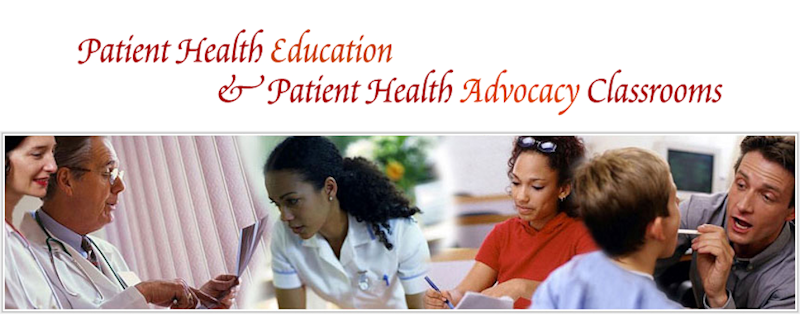 Patient Health Education and Patient Health Advocacy Classroom